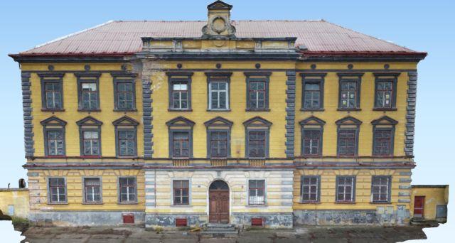 Documentation of the actual condition of the building – Jičín – 2019