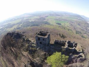 Ruins of Ralsko castle (Czech republic) – 2015